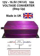 12V to 16.5V VOLTAGE CONVERTER 10AMP 165W STEP UP DC-DC, 12V-16.5V, 12V -16 1/2V