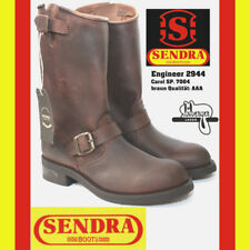 Sendra Engineer 2944 Größe 45  Carol SP. braun Rahmengenäht Bikerschnalle