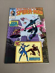 Peter Parker Spectacular Spider-Man #128 Marvel Comics Book KG Graphic Novel