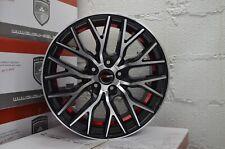 4 GWG Wheels FLARE 18 inch Gloss Black Red Rims fits LEXUS ES 300 2000 - 2003