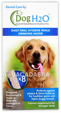 DOG H2O cura dentale TABLET CON IL CALCIO SUPPLEMENTO PER DENTI SANI & respiro