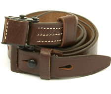 German WWII Mauser 98K Rifle Leather Sling - K98