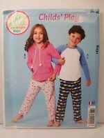 Kwik Sew K251 Child Size XXS - L Girls Boys Top Hoodie Pants Ellie Mae Designs