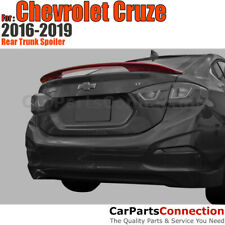 Painted Rear Trunk Spoiler For Chevrolet Cruze 16 19 Silver Ice Metallic Wa636r Fits Cruze