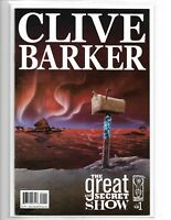 CLIVE BARKER: THE GREAT AND SECRET SHOW #1 IDW COMICS