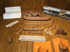2 Vintage Anekona Hawaii Outrigger Conoe Models/Kits - Model Cs-14, Plus Another