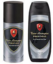 TONINO LAMBORGHINI PRESTIGIO PLATINUM EDITION DEODORANT/BODY SPRAY & SHOWER  GEL
