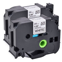 4PK TZe TZ 221 421 521 721 Label Tape Black on White//Red//Blue//Green For Brother