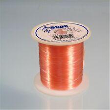 Ande Monofilament Pink Fishing Line Premium 1/4 lb Spool 12 lb Test
