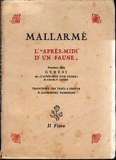 MALLARME' Stéphane, L'Après-midi d'un faune