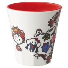 Sanrio Hello Kitty Evangelion Kawaii Melamine Mug Cup Japan Lunch Bento SKATER !