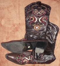 Damenstiefel - Toller Cowboy-Look - Top Zustand! Größe 40