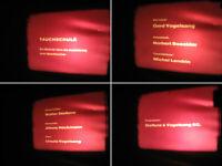 16 mm Film Tauchen,Technik Tauchschule 1960.Jahre im Mittelmeer-History Films