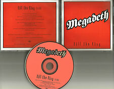 MEGADETH Kill The King Ultra Rare PROMO Radio DJ CD single 2000 USA