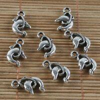 12pcs Tibetan Silve car charm pendants X0138
