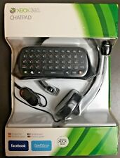 Microsoft Xbox 360 Authentic Chatpad and Headset with Microphone Sealed NIP