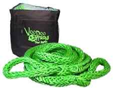 7/8 x 30 Voodoo Offroad GREEN RECOVERY ROPE 38,000 lb 38% stretch KINETIC ENERGY