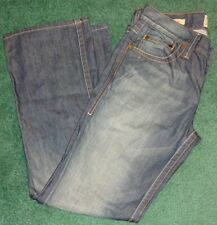 Authentic Men's William Rast Billy Flare Dark Blue Denim Jeans Size 34 NWT #9