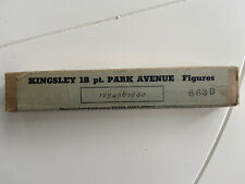 Kingsley Machine Type Park Avenue Hot Foil 18pt Figures
