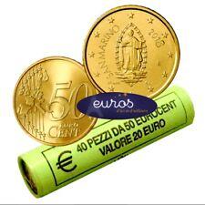 Pièce 0,50 euros ou 50 cent SAINT MARIN 2018 - Oeuvre d' Emilio Retrosi - UNC