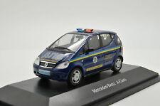 RARE !! Mercedes A-Class Ukraine Police Car code 3 by Herpa 1/43