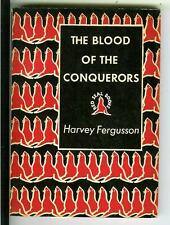 THE BLOOD OF THE CONQUERORS by Fergusson, Red Seal #21 digest vintage pb