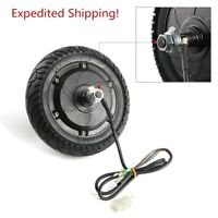 "Electric Scooter Hub Wheel Motor 24V 36V 48V Brushless Toothless 8"" Wheel 200mm"