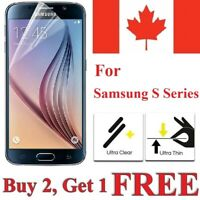 Clear Screen Protector Cover for Samsung Galaxy S20 FE S10e S7 S6 S5 / Neo
