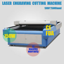 RECI 150W W6 Co2 Laser Cutting&Engraving Mahine 1300*2500mm 4'*8' With USB Port