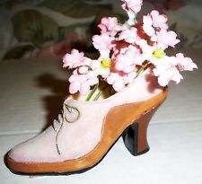 Mini Victorian Shoe Figurine by Paula's Perfect Fit Shoes
