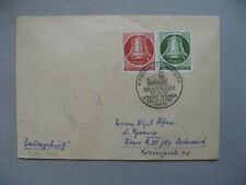 GERMANY BERLIN, censored cover FDC 1951, @ stamps Liberty bell