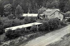 Viborg Dänemark alte Ansichtskarte 1963 Vandrerhjem og Lejrskole Haus im Wald