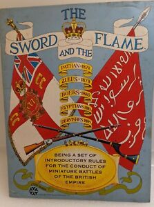 Yaquinto Wargame Sword and the Flame Miniatures Rules 1979 VG