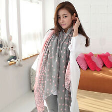 Womens Chiffon Voile Soft Scarf Wrap Shawl Pashmina Sarong Stole Silk Scarves