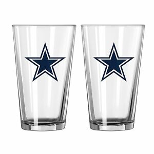 Boelter Brand NFL 16-ounce Game Day Pint, 2-Pack