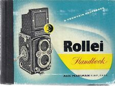 ROLLEI HANDBOOK. Alec Pearlman. Third Edition 1956