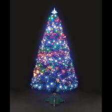 90cm Galaxy Fibre Optic Christmas Tree Multi-Coloured Lights – Fiber Pre Lit