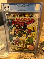 Amazing Spider-man Annual #6, CGC FN+ 6.5, 1st Appearance Sinister Six Reprint