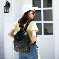 Fashion Rivet Design Backpack - Black (CSG061211BA)
