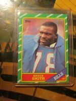 1986 Topps Football #389 Bruce Smith Buffalo Bills RC Rookie