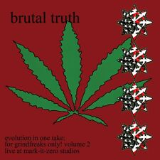 Brutal Truth - Evolution In One Take: For Grindfreaks Only! Volume 2 LP NEW