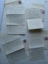 4 letters from 1941 to sweetheart - Hitler Joke, etc