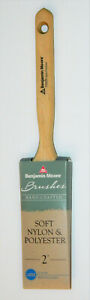"Benjamin Moore Paint Brush 2"" Soft Nylon & Polyester Flat 73320"