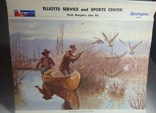1976 Elliotts Service Brooklyn Michigan Remington Advertising Calendar  Beecham