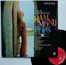 """LP Klaus Wunderlich  """"Hammond pops 2"""" - (TB/EX)"""