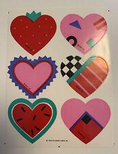 Vintage 80's Hallmark Sticker Sheet