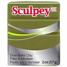 SCULPEY III - Polymer Clay - 57g - CAMOUFLAGE