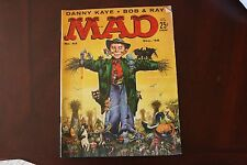 Mad Magazine DEC 1958 No 43 issue VG Condition pages tan water stain along edge