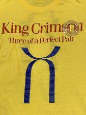 Vintage 1984 '85 King Crimson Three Of A Perfect Pair Concert Shirt