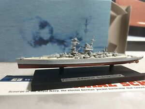 ATLAS EDTIONS - ADMIRAL SHEER - 1/1250 SCALE MODEL - BATTLE SHIP COLLECTION